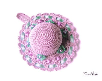 Crochet Pincushion, Purple Pincushion, Handmade Pincushion, Sewing accessories, Puntaspilli (Cod. 61)