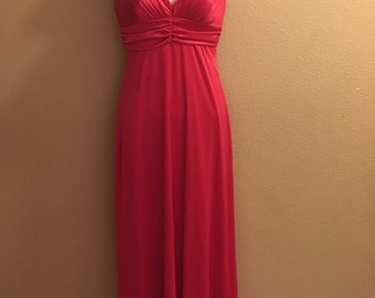V- neck dress Long Prom Dress size 5/6