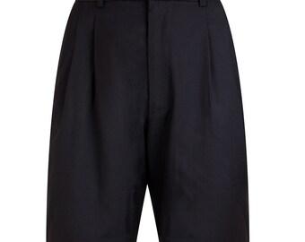 Black trendy shorts