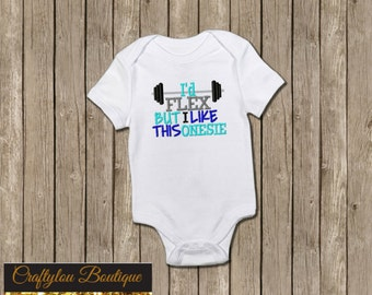 Id flex but I like this shirt Embroidered Toddler T-shirt, Embroidered T-shirt