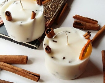 Cinnamon sticks soywax candle