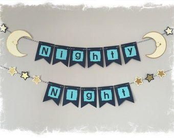 Nighty Night Wall Hanger-Bedroom Decor, Nursery Decor