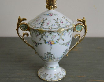 Ceramic Loving Cup with Lid