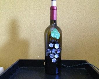 Bottle lit up