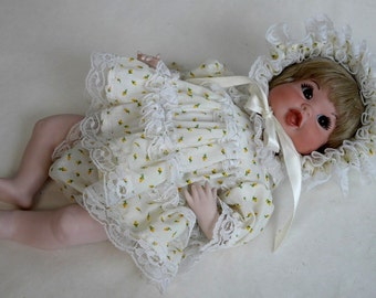 """One of a Kind Obeda's Handmade 16"""" Porcelain  Baby Doll"""