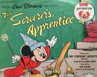 The Sorcerer's Apprentice Record, 78, Fantasia, 1951, INR, Symphony Orchestra