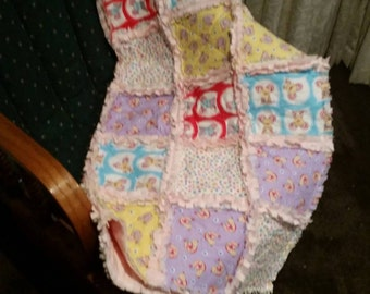 Baby Raggy Quilt