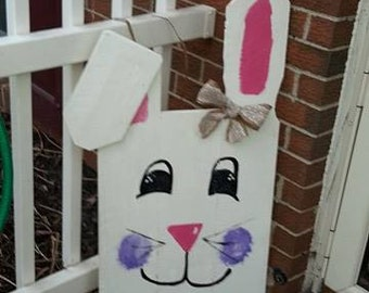 Easter Decoration, Easter Bunny Pallet Sign, Easter Pallet Decor, Easter Rabbit, pallet porch decor, Porch decoration, easter porch decor