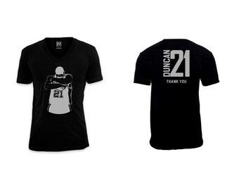 Tim Duncan 21 - Thank You.