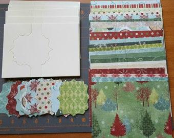 Christmas card making kit
