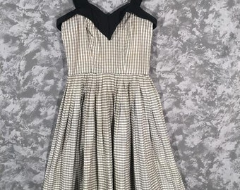 1950's Checked Dress