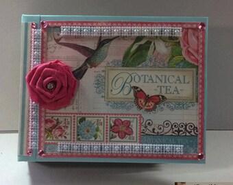 Botanical Tea Photo Album