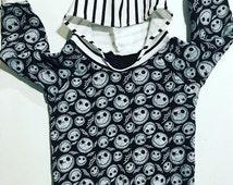 Nightmare before christmas / jack hoodie / halloween hoodie / halloween costume / halloween baby costume / baby clothes / jack skellington /
