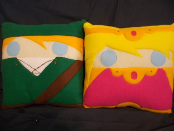 Legend of Zelda Throw Pillows