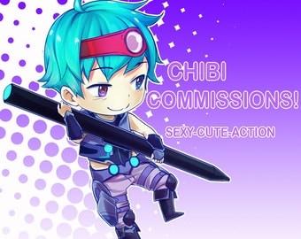 Custom chibi Comission