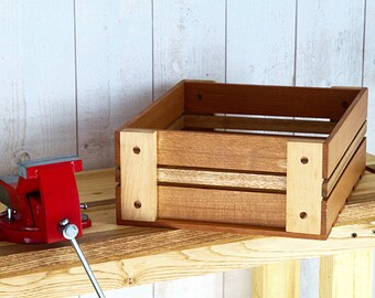 Bicycle wooden box