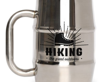 Father's Day Great Outdoors - Hiking Mug
