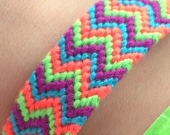 Double chevron bracelet
