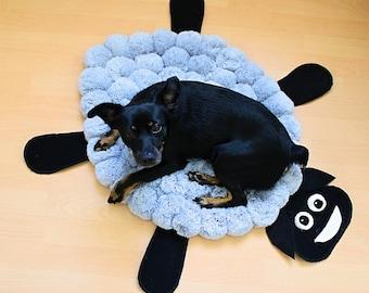 Soft Dog Bed - Washable Dog Bed - Dog Bedding - Pet Bedding - Custom Dog Bed - Large Dog Bed - Fluffy Dog Bed - Sheep Dog Bed