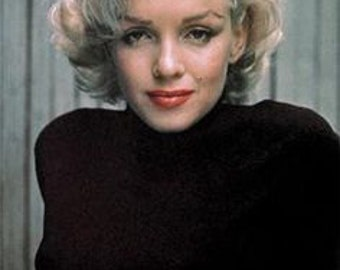 Marilyn Monroe Black Sweater Poster