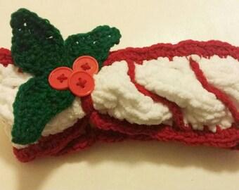 Holiday headband size 12m