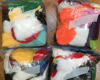 Fur Scraps- Misc. Colors