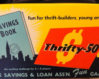 Vintage Thrifty-50 Board Game