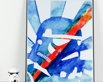 Propaganda Style Stormtrooper: Fin