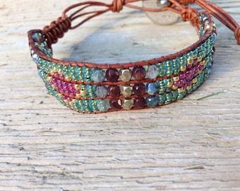 Indian Summer Beaded Bracelet
