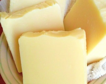 Lemon-Chamomile soap, cold-process soap, perfect kitchen soap