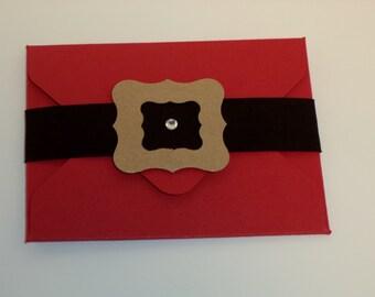 Christmas Gift Card Holder. gift card holder, Holiday, money holder