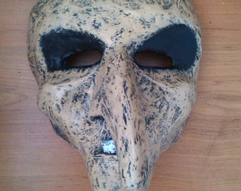 Witch Mask | Paper Mache Mask | Costume