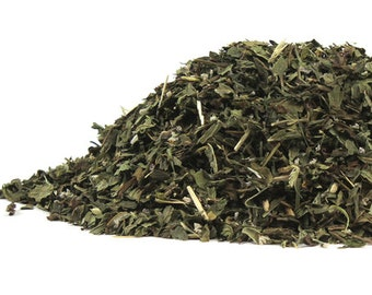 Certified Organic Spearmint Leaf - Dried Herb - 4oz