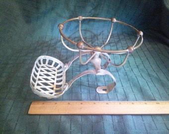 Antique Brass Clawfoot Bathtub Soap Holder.