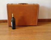 Vintage Samsonite Shwayder Brothers Leather Luggage, Excellent Condition, Large Size Luggage
