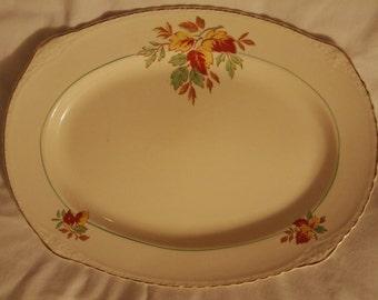 Rare Royal Harvey Staffordshire Serving Platter