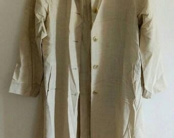Vintage CHLOE Wool Trench Coat Jacket.