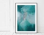 Giclee print,contemporary art, figure painting, original painting,romantic woman print