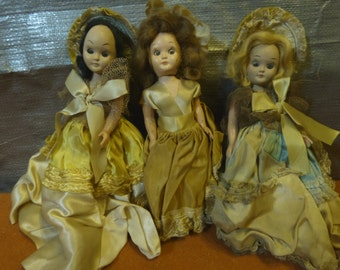 Vintage Storybook dolls collection