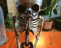 Human  Baby skeleton fetal on stand replica. Free shipping