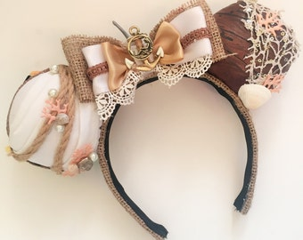 Shipwrecked Mermaid (Little Mermaid) Inspired Mouse Ears