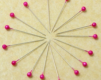 800Pcs Rose Round Pearl Head Pins Weddings Corsage Sewing Pin  ******** US SELLER with Fast Shipping