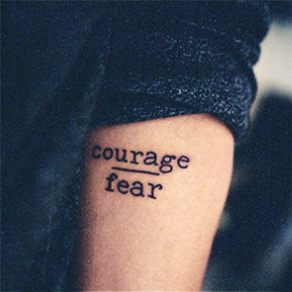 courage quotes tattoos - photo #31
