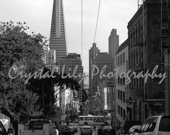 San Francisco Streets Print