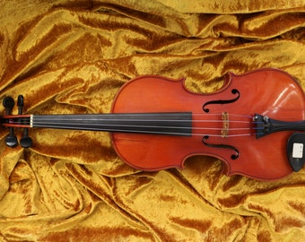 Gorgeous Antique August Liebich Amati Model Violin 4/4 Original Condition