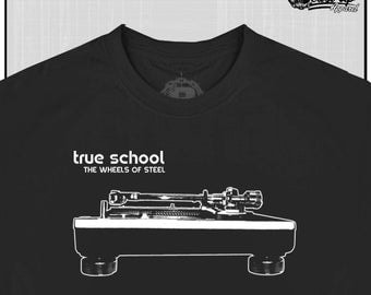 True School Dj The Wheels Of Steel Technics 1200 Turntable