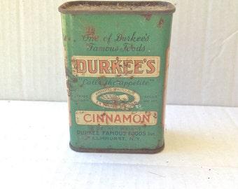 Durkee's Cinnamon Tin