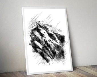 """Done By Hands Project - """"Hands"""" Canvas Print [Limited Edition]"""