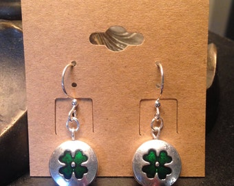 Lucky Lady (in Silver) Earrings