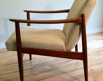 Mid century teak easy/ lounge Chair
